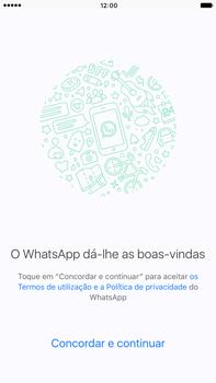 Apple iPhone 7 Plus - Aplicações - Como configurar o WhatsApp -  7