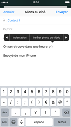 Apple iPhone 6s iOS 10 - E-mail - envoyer un e-mail - Étape 9