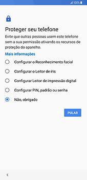 Samsung Galaxy S9 Plus - Primeiros passos - Como ativar seu aparelho - Etapa 16