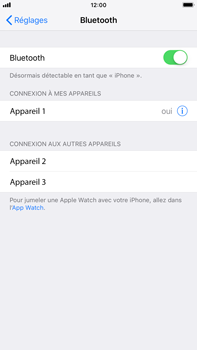 Apple iPhone 7 Plus - iOS 12 - Bluetooth - connexion Bluetooth - Étape 8