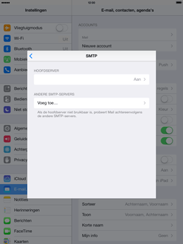 Apple iPad 4th generation (Retina) met iOS 7 - E-mail - Handmatig instellen - Stap 18