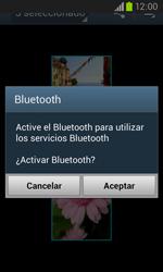Samsung i8260 Galaxy Core - Bluetooth - Transferir archivos a través de Bluetooth - Paso 11