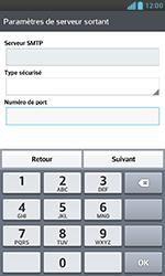 LG E975 Optimus G - E-mail - Configuration manuelle - Étape 14