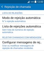 Samsung Galaxy J1 - Chamadas - Como bloquear chamadas de um número -  6