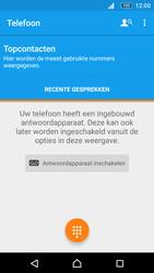 Sony Xperia M5 (E5603) - Voicemail - Handmatig instellen - Stap 4