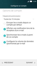 Huawei Y5 - E-mail - Configuration manuelle - Étape 20