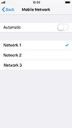 Apple iPhone 5s - iOS 12 - Network - Usage across the border - Step 7