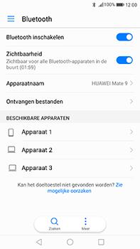 Huawei Mate 9 - WiFi en Bluetooth - Bluetooth koppelen - Stap 5