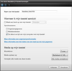 BlackBerry 9780 Bold - Software - installeer firmware update - Stap 16