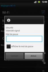 Sony ST27i Xperia Go - Wifi - configuration manuelle - Étape 7