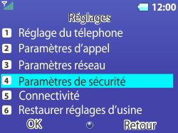 Bouygues Telecom Bc 311 - Sécuriser votre mobile - Personnaliser le code PIN de votre carte SIM - Étape 4