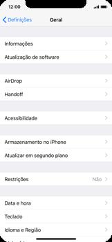 Apple iPhone X - Aplicações - Como desinstalar/remover aplicação -  4