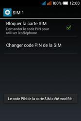 Alcatel OT-4015X Pop C1 - Sécuriser votre mobile - Personnaliser le code PIN de votre carte SIM - Étape 14