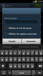 Samsung I9300 Galaxy S III - Wifi - configuration manuelle - Étape 6