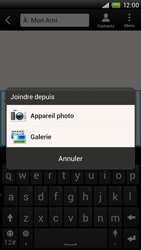 HTC S728e One X Plus - MMS - Envoi d