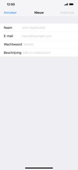 Apple iPhone XR - E-mail - Account instellen (POP3 zonder SMTP-verificatie) - Stap 7
