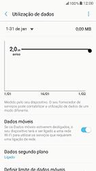 Samsung Galaxy A5 (2017) - Internet no telemóvel - Como ativar os dados móveis -  7