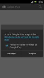Sony Xperia J - Aplicaciones - Descargar aplicaciones - Paso 4