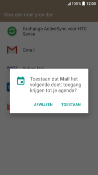 HTC HTC Desire 825 - E-mail - e-mail instellen (outlook) - Stap 6