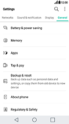 LG K10 2017 - Device maintenance - Create a backup of your data - Step 4
