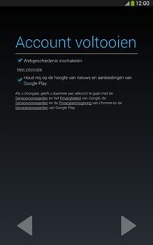 Samsung T315 Galaxy Tab 3 8-0 LTE - Applicaties - Account aanmaken - Stap 17
