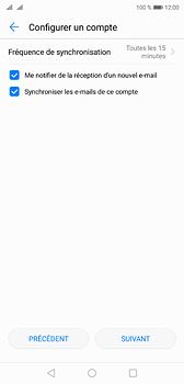 Huawei P20 - E-mails - Ajouter ou modifier un compte e-mail - Étape 18