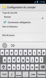 Acer Liquid Glow E330 - E-mail - Configuration manuelle - Étape 11