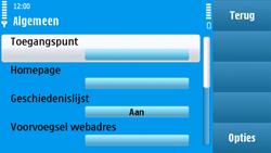 Nokia N97 - Internet - Handmatig instellen - Stap 21