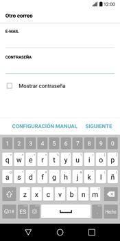 LG G6 - E-mail - Configurar correo electrónico - Paso 8