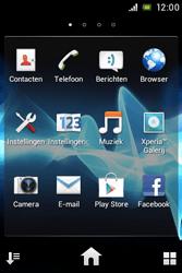 Sony ST21i Xperia Tipo - Internet - Internet gebruiken - Stap 3