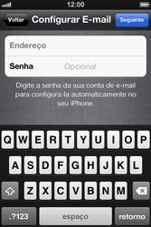 Apple iPhone iOS 5 - Primeiros passos - Como ativar seu aparelho - Etapa 23