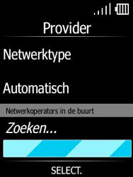 Doro 7060-model-dfc-0190 - Netwerk selecteren - Handmatig een netwerk selecteren - Stap 10
