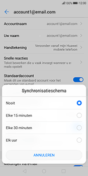 Huawei Mate 10 Lite (Model RNE-L21) - E-mail - Instellingen KPNMail controleren - Stap 8