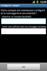 Samsung S7500 Galaxy Ace Plus - E-mail - Configuration manuelle - Étape 16