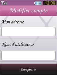 Samsung S7070 Diva - E-mail - Configuration manuelle - Étape 13