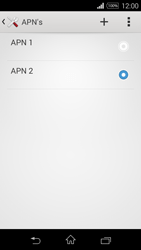 Sony D2203 Xperia E3 - Internet - Handmatig instellen - Stap 17