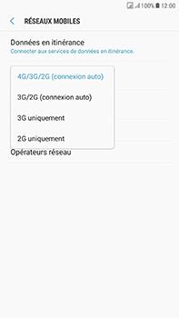 Samsung Galaxy J7 (2017) - Réseau - Changer mode réseau - Étape 7