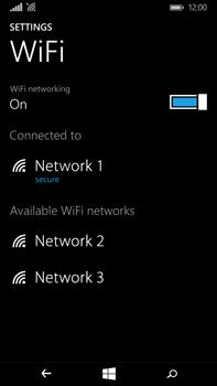 Microsoft Lumia 640 XL - Wi-Fi - Connect to a Wi-Fi network - Step 8