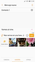 Samsung Galaxy A5 (2017) (A520) - Mensajería - Escribir y enviar un mensaje multimedia - Paso 13