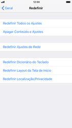 Apple iPhone 6 - iOS 12 - Funções básicas - Como restaurar as configurações originais do seu aparelho - Etapa 5