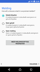 Sony Xperia X Compact (F5321) - E-mail - Handmatig instellen - Stap 21
