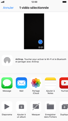 Apple iPhone 6 - iOS 11 - Photos, vidéos, musique - Créer une vidéo - Étape 11