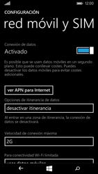 Microsoft Lumia 535 - Red - Seleccionar el tipo de red - Paso 7