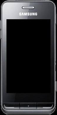 Samsung Wave 723 - Premiers pas - Découvrir les touches principales - Étape 2