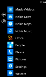 Nokia Lumia 710 - Voicemail - Manual configuration - Step 3