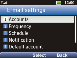 LG C360 Golf - Email - Manual configuration POP3 with SMTP verification - Step 11