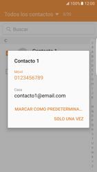 Samsung Galaxy S7 Edge - Mensajería - Escribir y enviar un mensaje multimedia - Paso 9