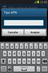 Samsung S6310 Galaxy Young - Mensajería - Configurar el equipo para mensajes multimedia - Paso 14