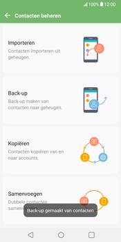 LG V30 (LG-H930) - Contacten en data - Contacten kopiëren van toestel naar SIM - Stap 13