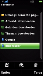 Sony Ericsson U1i Satio - Internet - Hoe te internetten - Stap 10